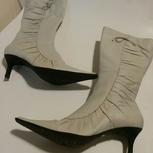 BRONX BRAZIL LEATHER HEELED BOOTS